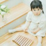 2歳バースデーフォト、かのんちゃん!木琴