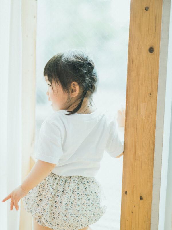 2歳バースデーフォト、かのんちゃん!後ろ姿