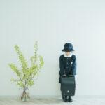 入学記念、みりちゃん!制服、ランドセル、帽子