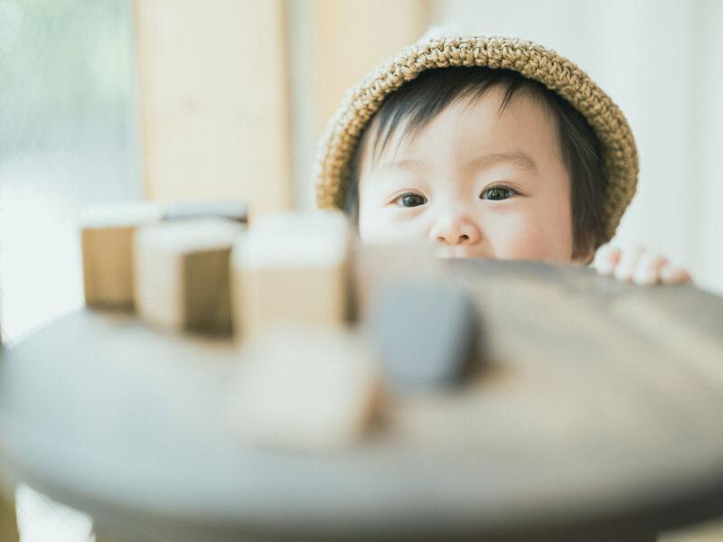 1歳バースデーフォト、つむぎちゃん!可愛い