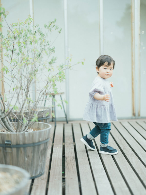 2歳バースデーフォト、りのちゃん!可愛い