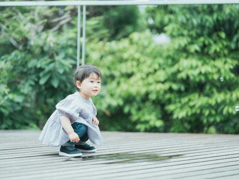 2歳バースデーフォト、りのちゃん!