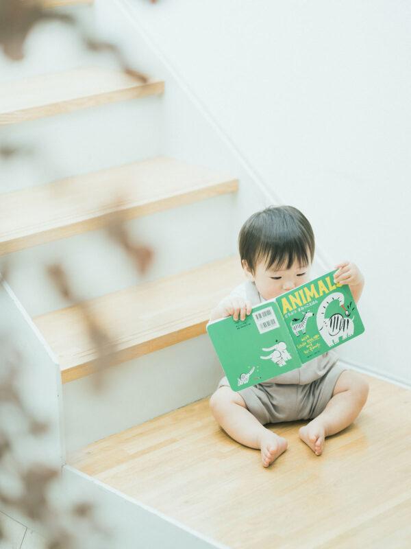 1歳バースデー、はるとくん!絵本