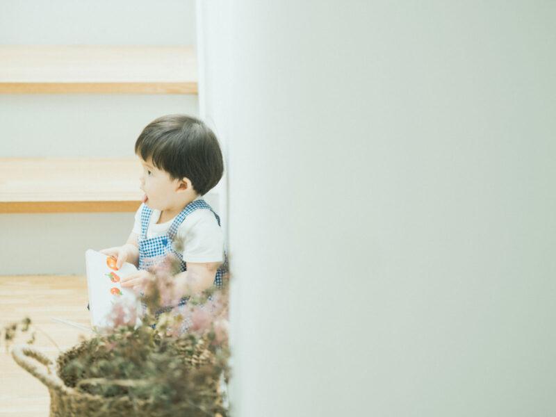 1歳バースデーフォト、とうたくん!絵本、はらぺこあおむし