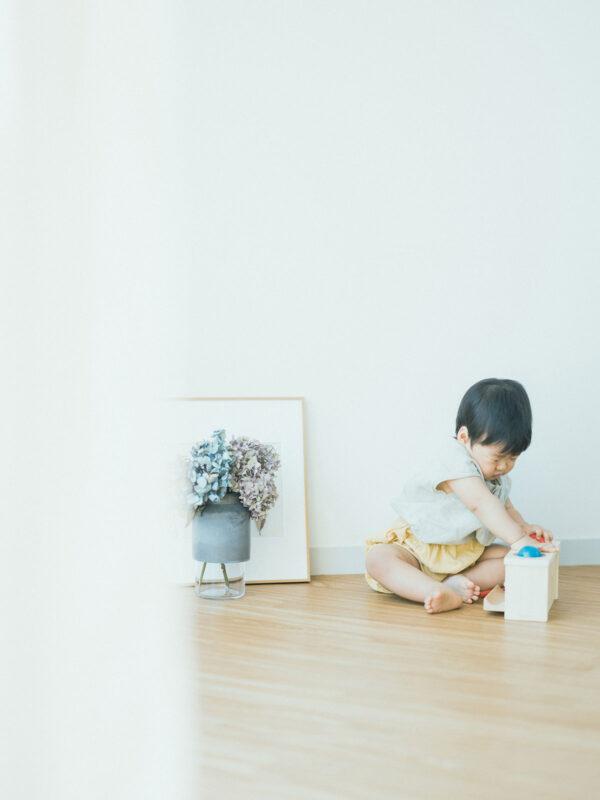 1歳バースデー、けいいちくん!可愛いおもちゃ