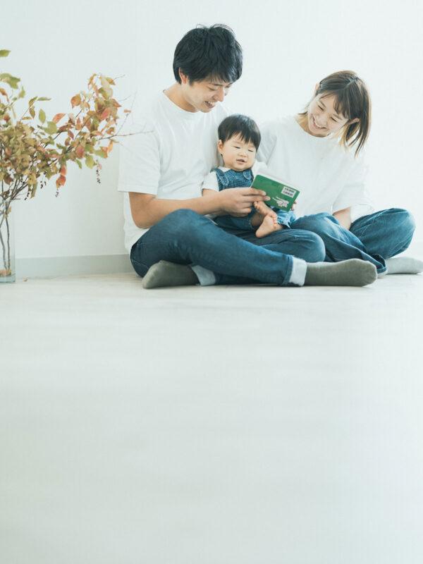 1歳バースデー、けいいちくん!家族写真
