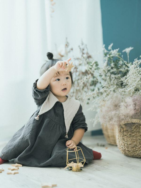 2歳バースデーフォト、ふたばちゃん!