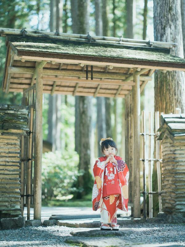 古峯神社、古峯園、3歳七五三、みとちゃん!可愛い