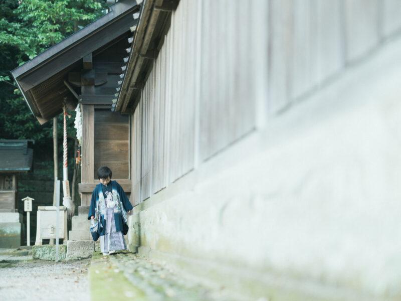 宇都宮二荒山神社、5歳七五三、あゆむくん!稲荷神社