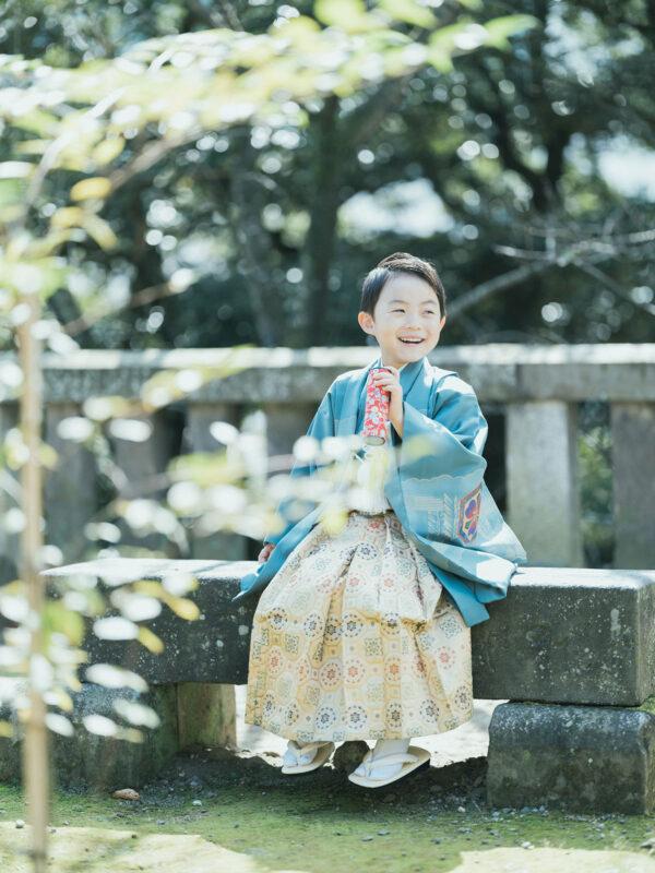 宇都宮二荒山神社、5歳七五三、がくくん!万華鏡