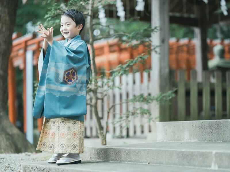 宇都宮二荒山神社、5歳七五三、がくくん!